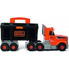 Ігровий набір Smoby Toys Black+Decker Вантажівка з інструментами, фото 4