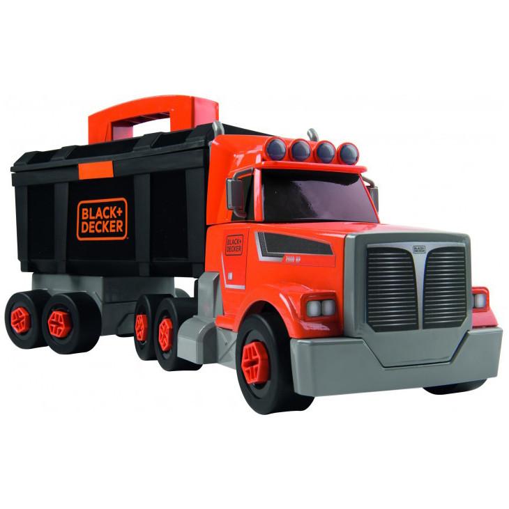 Ігровий набір Smoby Toys Black+Decker Вантажівка з інструментами