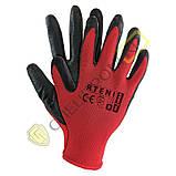 Перчатки покрытые нитрилом RTENI, фото 3