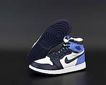 """Зимние кроссовки на меху Nike Air Jordan Winter """"Разноцветные"""", фото 2"""