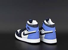 """Зимние кроссовки на меху Nike Air Jordan Winter """"Разноцветные"""", фото 3"""