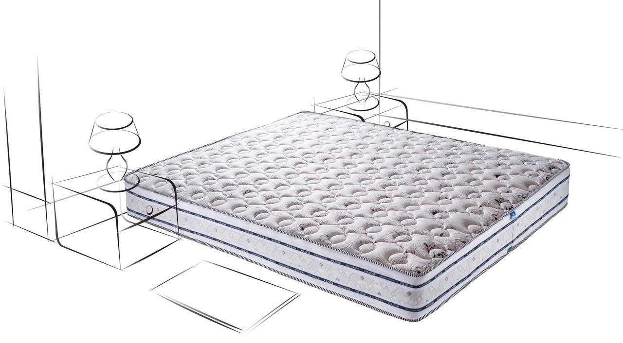 Матрас Империал Мемори-Латекс 3D ортопедический пружинный