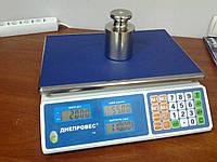 Торговые весы электронные настольные Днепровес F902H-30L1