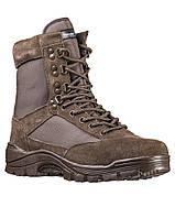 Берцы тактические ботинки MIL-TEC M.YKK Zipper Braun 12822109