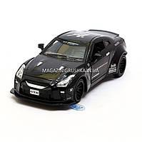 Машинка игровая автопром «Nissan GTR» Черный 7862, фото 1