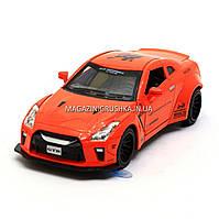 Машинка игровая автопром «Nissan GTR» Оранжевый 7862, фото 1