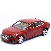Машинка игровая автопром «Audi A7» 68248A - Красный, фото 1
