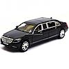 Машинка игровая металлическая автопром «Mercedes Benz Maybach» Мерседес бенц Майбах Черный 7686