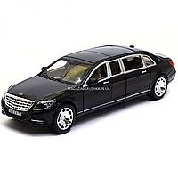 Машинка игровая металлическая автопром «Mercedes Benz Maybach» Мерседес бенц Майбах Черный 7686, фото 1