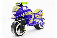 Мотоцикл-толокар «kinderway» 11-06 синий