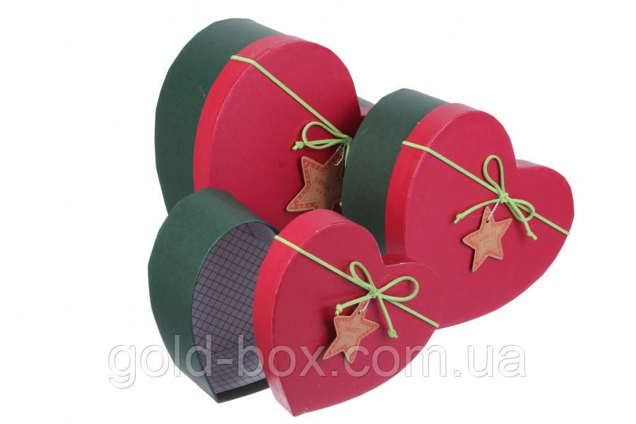 Коробочки новорічні 3 в 1 оптом