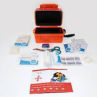 Набір першої допомоги MIL-TEC в коробці-аптечка (Помаранчева) - 16025714