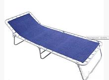 Раскладушка кровать на пружинах Ретро 193х72х28 см нагрузка 120 кг