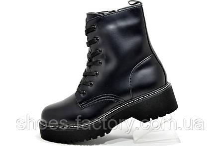 Зимние Ботинки в стиле Dr. Martens Доктор Мартинс, фото 2