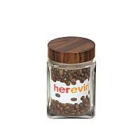 """Банка """"Woody"""", Herevin, 1.5л, квадратная, 231015-000"""