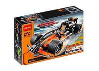 Конструктор «Черный гоночный автомобиль» - 137 деталей