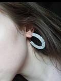 Сережки з камінчиками, фото 2
