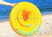 Надувной плавательный круг (плотик) Intex (интекс) для детей, фото 1