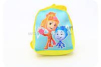 Рюкзак «Фиксики» - Симка и Нолик (зеленый) 04324, фото 1