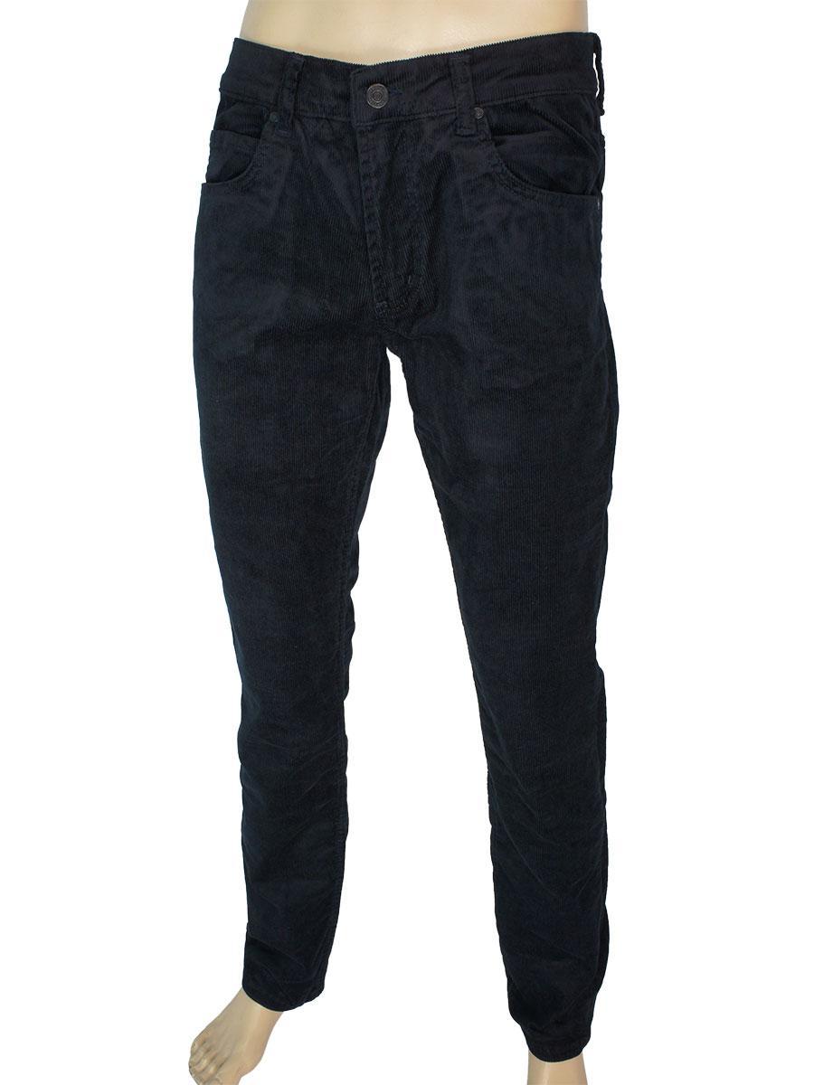 Чоловічі темно-сині вельветові джинси Cen-cor CNC-1563 Lacivert