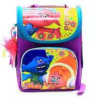 Рюкзак школьный каркасный Тролли «1 вересня» 553359, фото 1