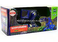 Магнитный конструктор Синий динозавр (свет, звук) LQ624