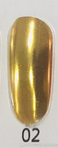 Зеркальная втирка Thousand foil № 2