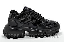Зимние кроссы в стиле Prada Прада Клауд Буст Тандер Black, фото 2