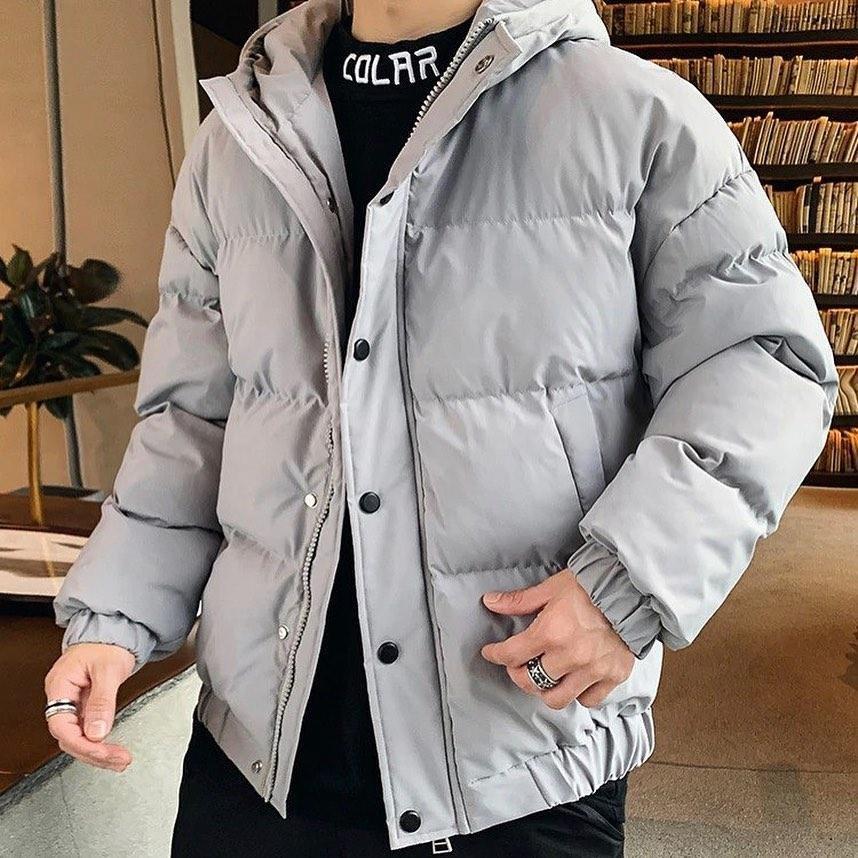 😜 Куртка - Мужскаяя куртка оверсайз коричневого цвета
