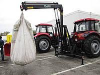 Кран-манипулятор тракторный DLagro для погрузки-разгрузки удобрений и посевного материала