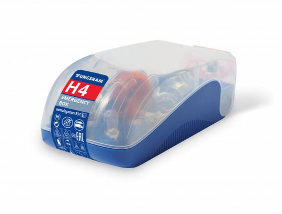Набір автоламп Tungsram H4 12V Emergency kit (H4, PY21W, P21/5W, P21W, R5W,C5W, W5W), фото 2