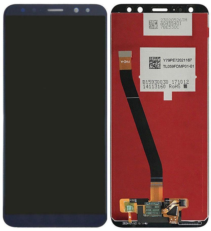 Дисплей Huawei Mate 10 Lite RNE-L01, RNE-L21, Nova 2i + Touchscreen Blue