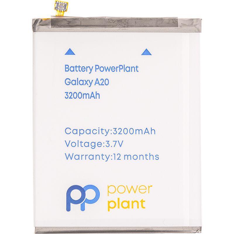 Акумулятор Samsung Galaxy A20 A205FD / EB-BA505ABU / SM170685 (3200 mAh) PowerPlant