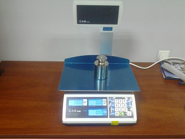 весы торговые CAS