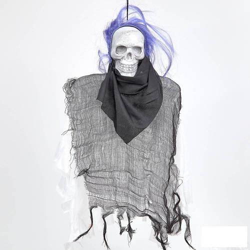 Мумия с мигающими глазами и звуком  на Хеллоуин 45 см 6 штук в упаковке