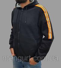 Толстовка(батник) чоловіча з утеплювачем, фото 3