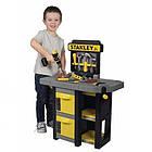 Ігровий набір Smoby Toys Stanley Jr Мобільна майстерня з інструментами 37 аксесуарів, фото 5