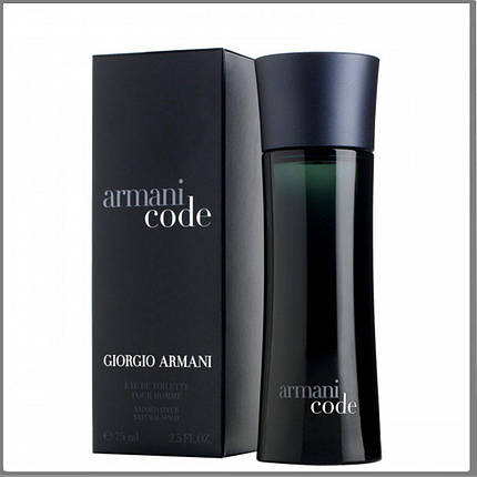 Giorgio Armani Code туалетная вода 75 ml. (Армани Блэк Код), фото 2