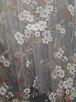 Тюль  печать органза  AL-21, фото 1