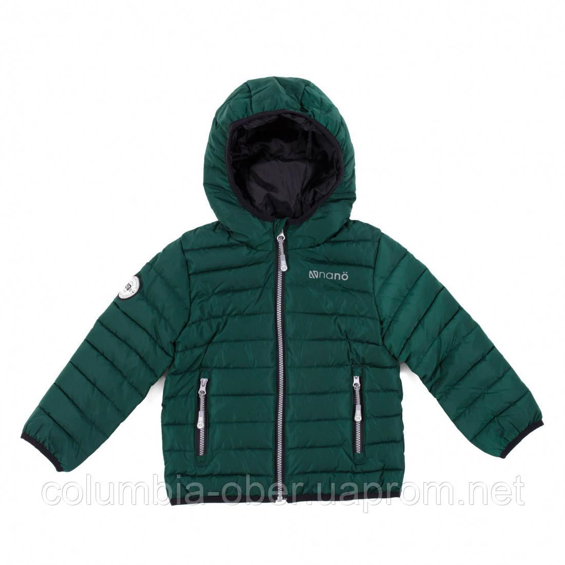 Демисезонная куртка для мальчика F20M1251 RoyalGreen. Размеры 2 - 14 лет.