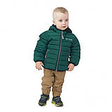 Демисезонная куртка для мальчика F20M1251 RoyalGreen. Размеры 2 - 14 лет., фото 3
