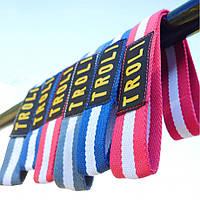 Лямки для турника петли для перекладины ремни для воркаута | Лямки для турніка петлі для поперечини ремені для воркаута Troli Workout Stripe