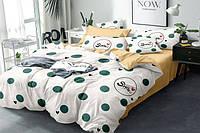 Евро комплект постельного белья 200*220 сатин_хлопок 100% (15532), фото 1
