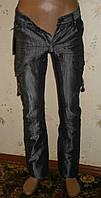 Подростковые джинсы для мальчика темно-серого цвета р 28, 30