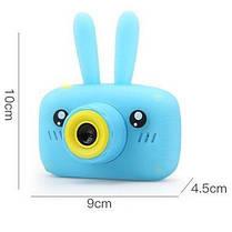 Детская фотокамера Baby Photo Camera Rabbit X-500 Розовый, фото 2