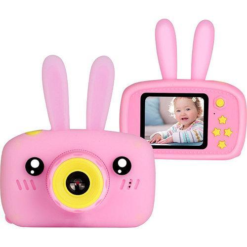 Детская фотокамера Baby Photo Camera Rabbit X-500 Розовый