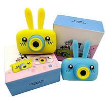 Детская фотокамера Baby Photo Camera Rabbit X-500 Розовый, фото 3