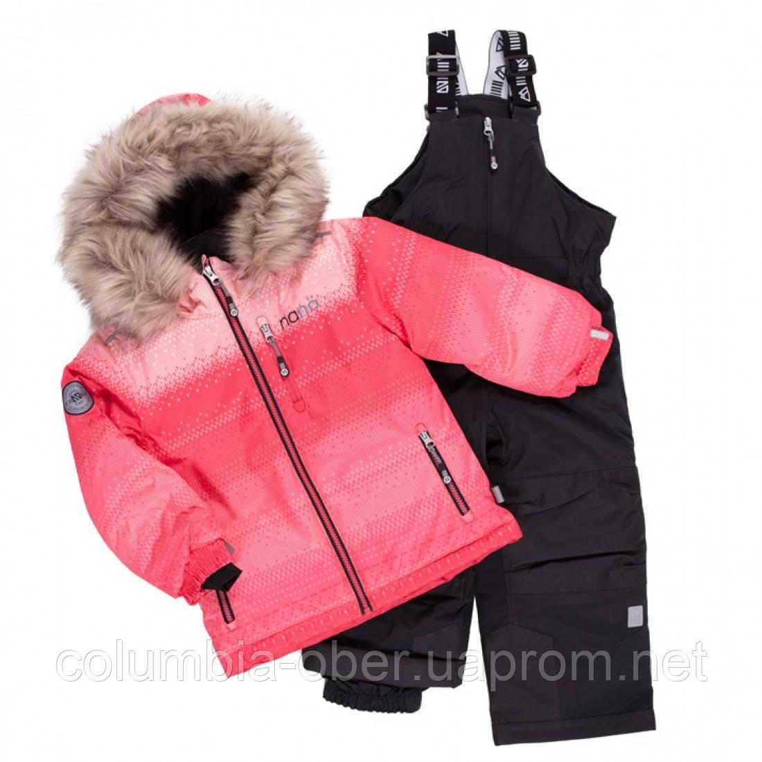 Зимний термокомплект для девочки NANO F20M258 PinkFusion DpGray. Размеры 3 - 10.