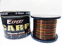 Леска карповая для рыбалки CarpExpert 1000 м мультиколор 0.35 мм