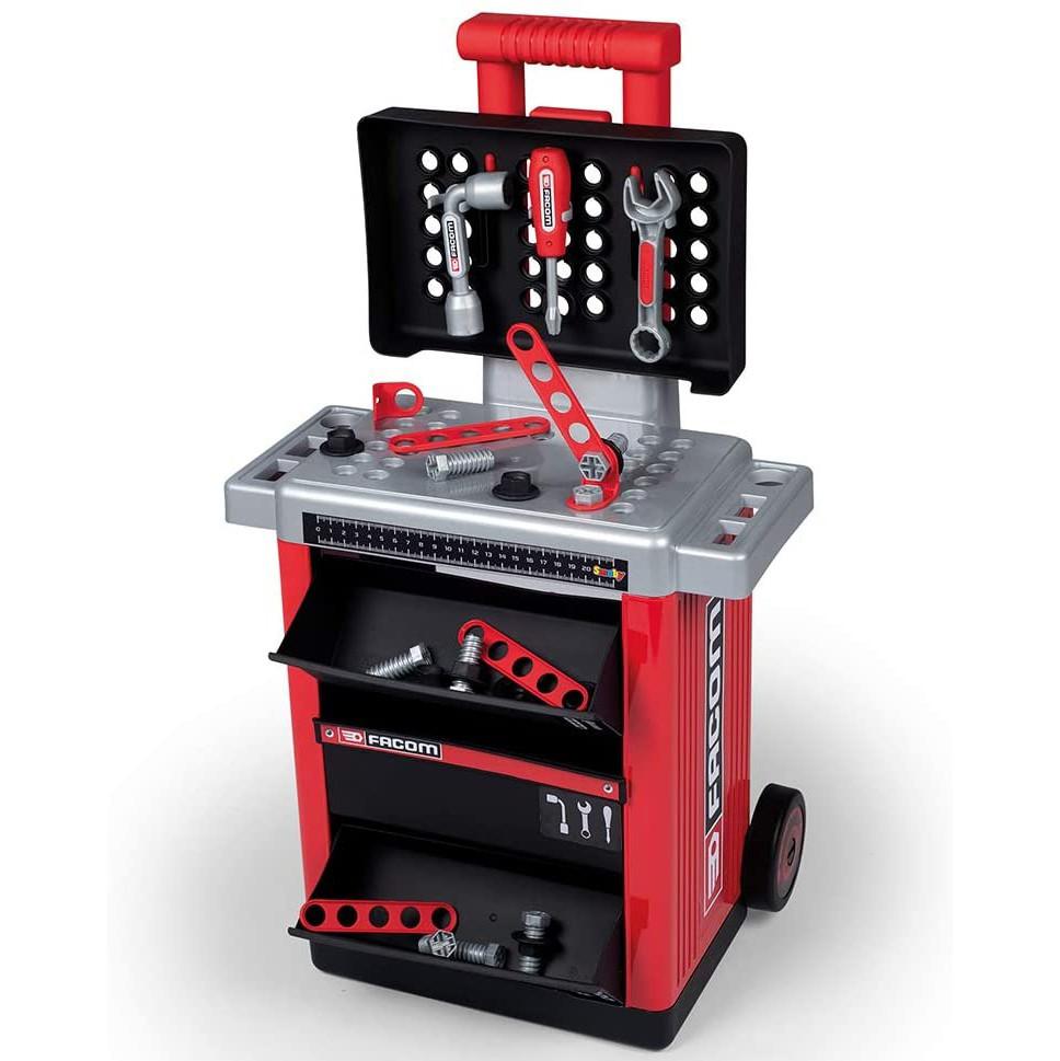 Игровой набор Smoby Toys Передвижная мастерская с инструментами 30 аксессуаров